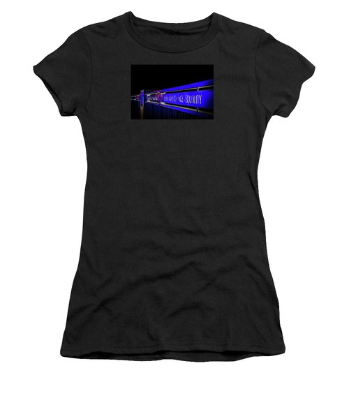 Dream-hope-change-equality Martin Lurther Kin Bridge - Fort Wayne Indiana Women's T-Shirt (Athletic Fit)