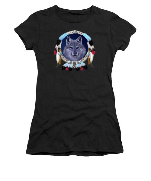 Dream Wolf Women's T-Shirt (Athletic Fit)
