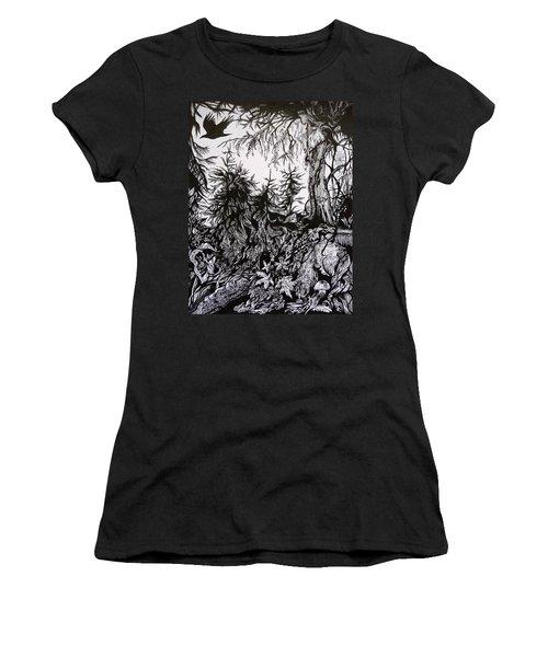 Dreaming Alaska.part One Women's T-Shirt (Junior Cut) by Anna  Duyunova