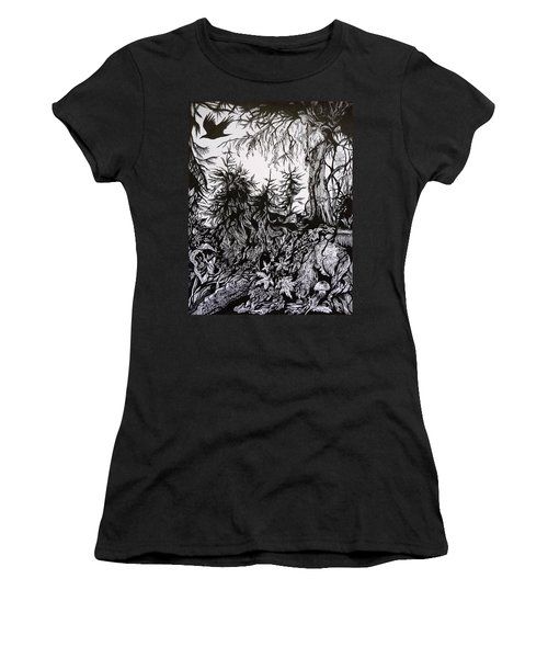Dreaming Alaska.part One Women's T-Shirt (Athletic Fit)