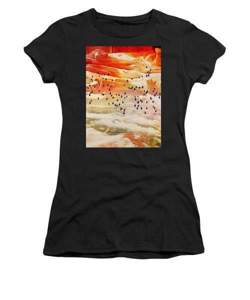 Dreaming Between The Sheets Women's T-Shirt (Athletic Fit)