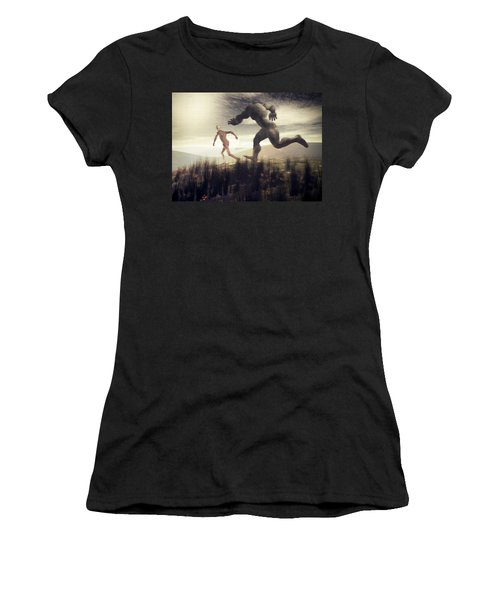 Dreaming Of A Nameless Fear Women's T-Shirt (Athletic Fit)