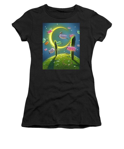 Dreamland II Women's T-Shirt (Athletic Fit)