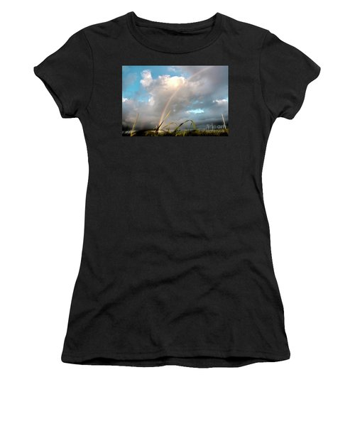 Dreams Of A Rainbow Women's T-Shirt (Athletic Fit)