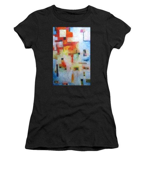 Dreamscape Clouds Women's T-Shirt (Athletic Fit)