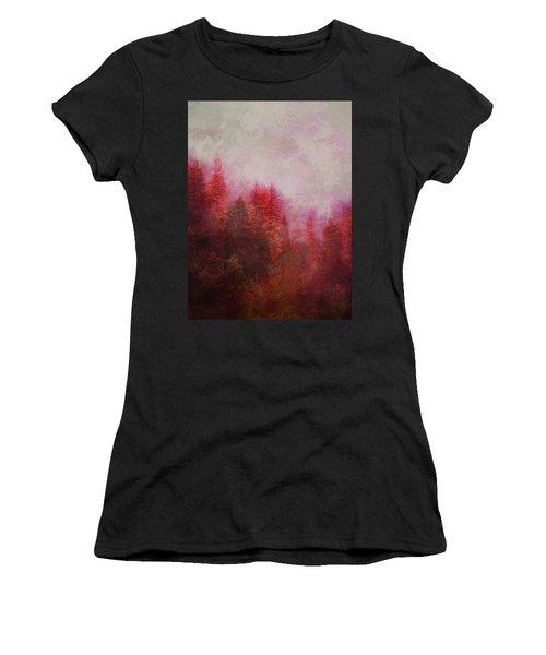 Dreamy Autumn Forest Women's T-Shirt (Athletic Fit)