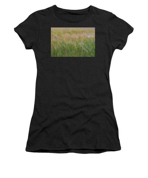 Dreamy Meadow Women's T-Shirt (Athletic Fit)
