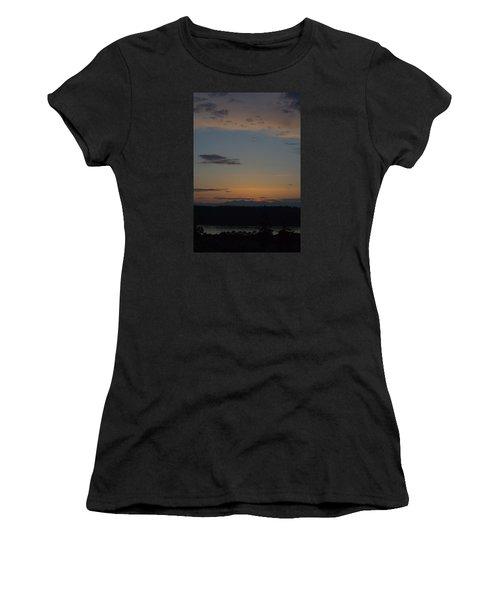Dreamy Sunset Women's T-Shirt (Junior Cut) by John Rossman