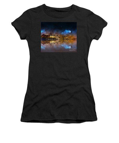 Dresden At Night Women's T-Shirt