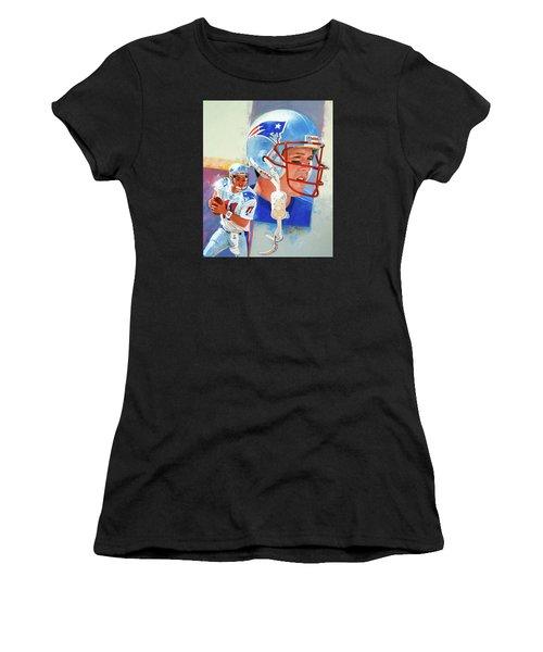 Drew Bledsoe Women's T-Shirt (Athletic Fit)