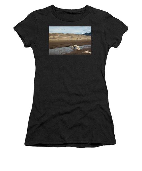 Drift Wood And Dunes Women's T-Shirt