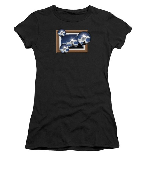 Drifting Away Women's T-Shirt (Athletic Fit)
