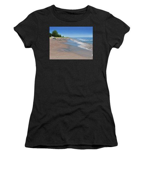 Driftwood Beach Women's T-Shirt