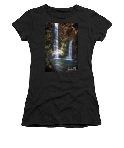Dripping Springs Falls Women's T-Shirt (Athletic Fit)