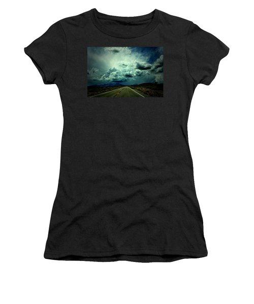 Drive On Women's T-Shirt (Junior Cut) by Mark Ross