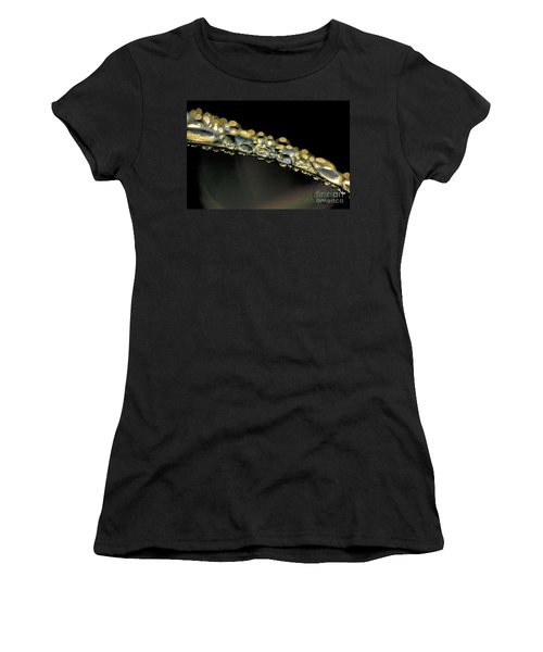 Drops On The Green Grass Women's T-Shirt
