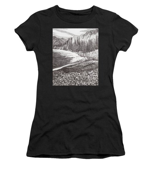 Dry Riverbed Women's T-Shirt