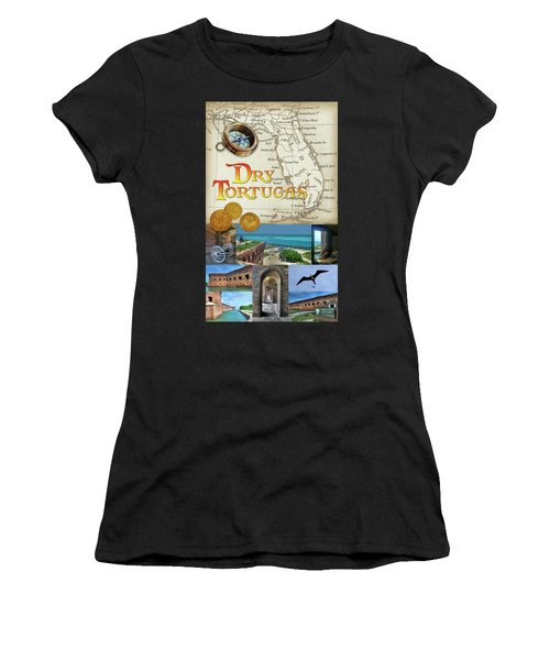 Dry Tortugas Women's T-Shirt (Athletic Fit)