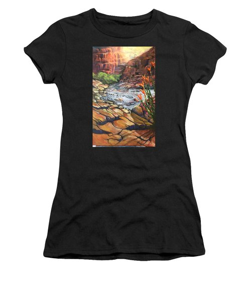 Dry Wash Women's T-Shirt (Athletic Fit)