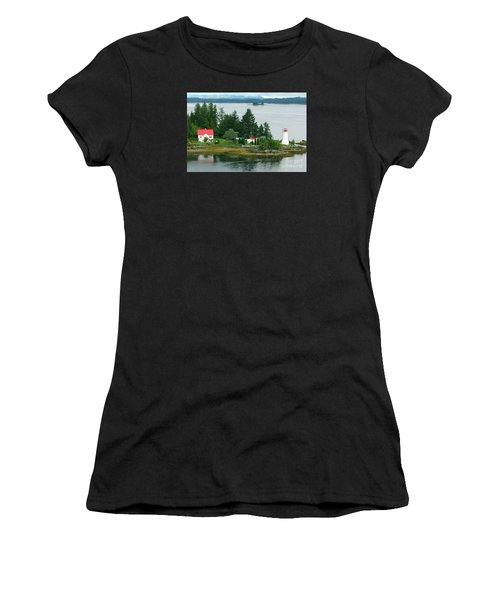 Dryad Point Lighthouse Women's T-Shirt (Athletic Fit)