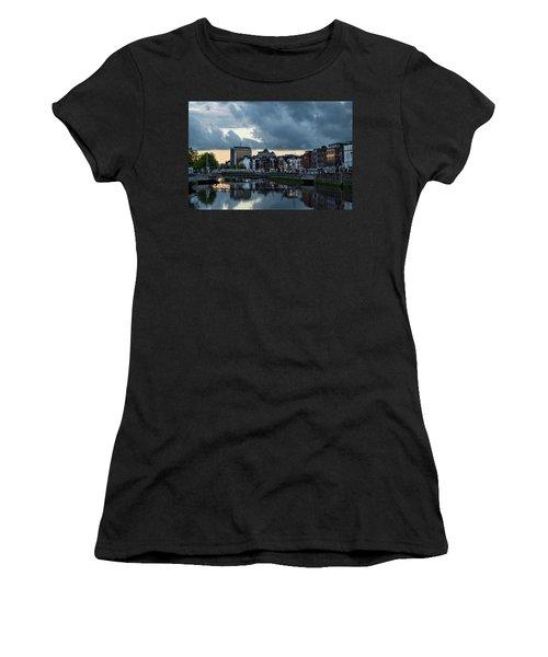 Dublin Sky At Sunset Women's T-Shirt