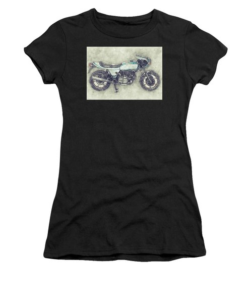 Ducati Supersport 1 - Sports Bike - 1975 - Motorcycle Poster - Automotive Art Women's T-Shirt