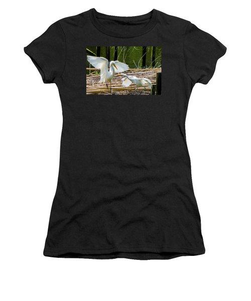 Dueling Bills Women's T-Shirt (Junior Cut) by Kimo Fernandez