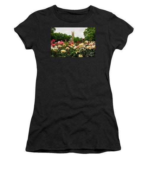 Duke Chapel And Roses Women's T-Shirt