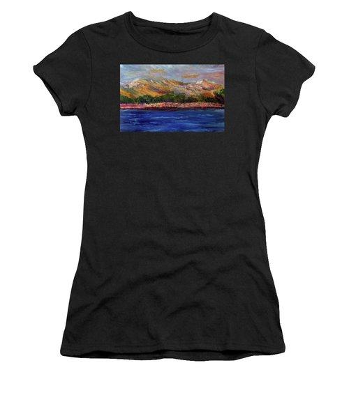 Dunes At Pilgrim Lake Women's T-Shirt (Athletic Fit)