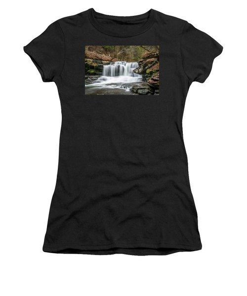 Dunloup Creek Falls Women's T-Shirt