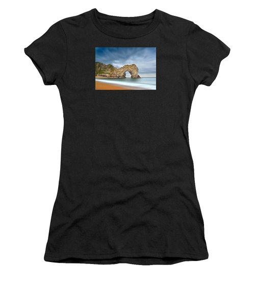 Durdle Door 1 Women's T-Shirt (Athletic Fit)