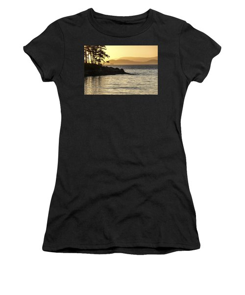 Dusk On Sucia Island Women's T-Shirt