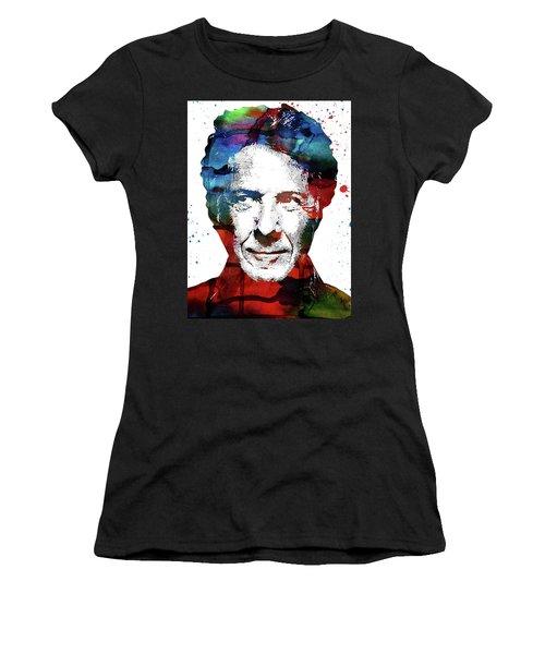 Dustin Hoffman Women's T-Shirt (Junior Cut) by Mihaela Pater