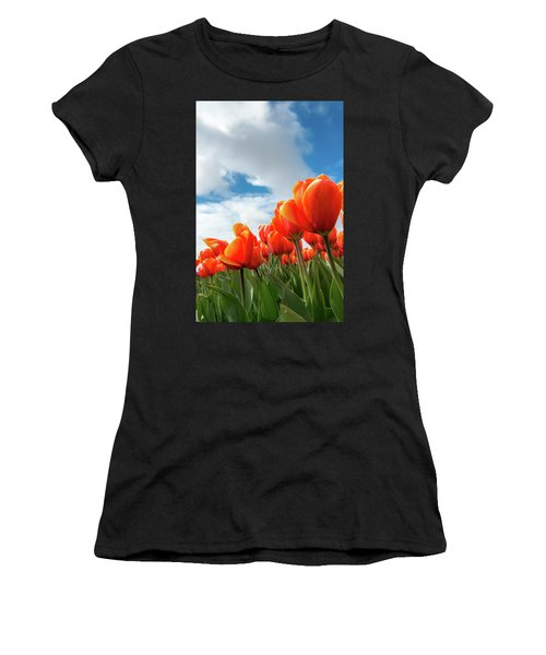 Dutch Tulips Near Keukenhof Women's T-Shirt