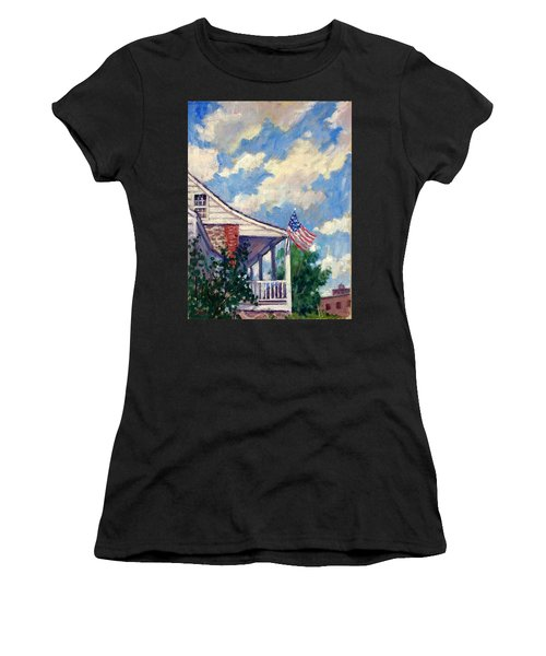 Dyckman House Nyc Women's T-Shirt