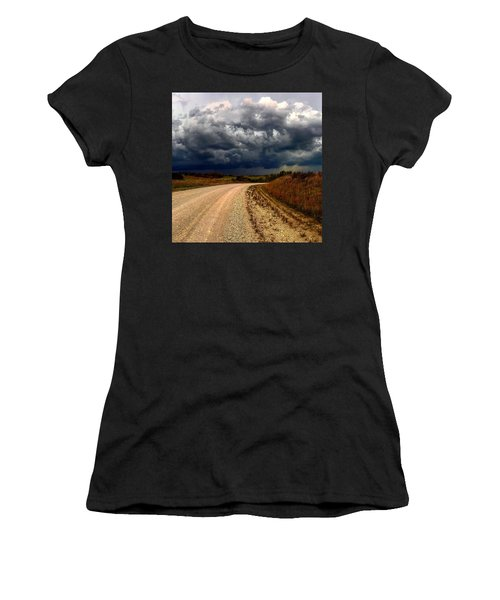 Dying Tornadic Supercell Women's T-Shirt (Athletic Fit)