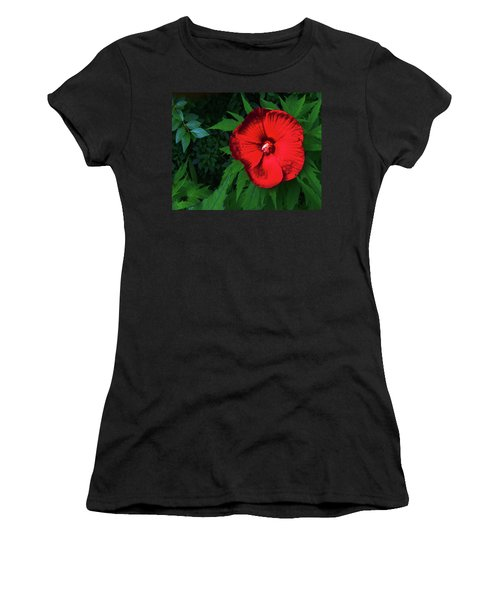 Dynamic Red Women's T-Shirt