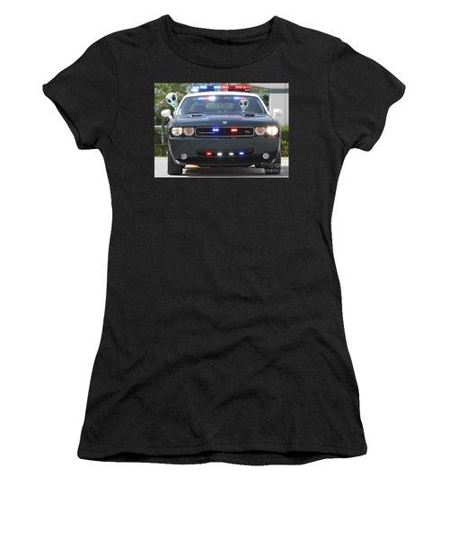 E T Cops Women's T-Shirt (Athletic Fit)