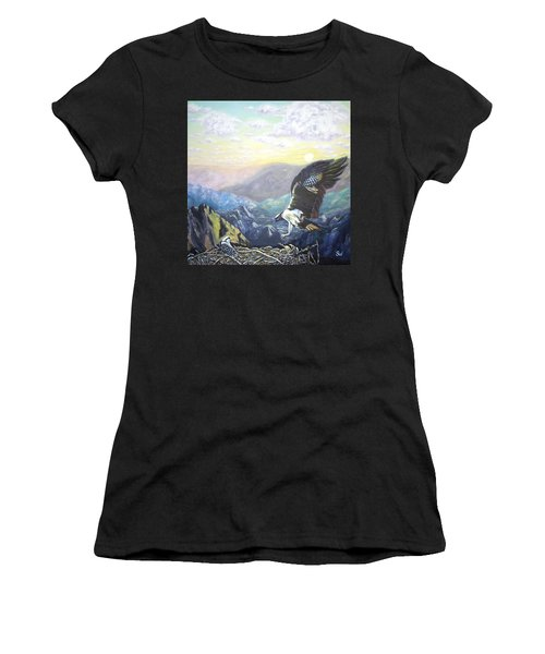 Eagle At Home Women's T-Shirt