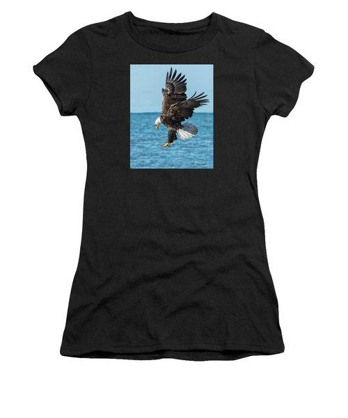 Eagle Dive Women's T-Shirt (Athletic Fit)