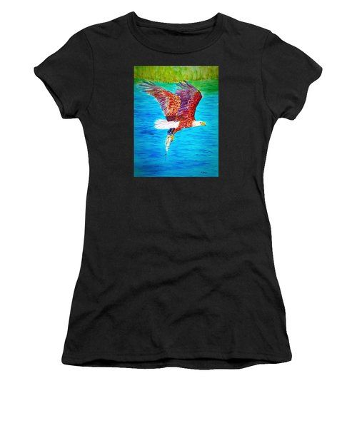 Eagle's Lunch Women's T-Shirt (Athletic Fit)
