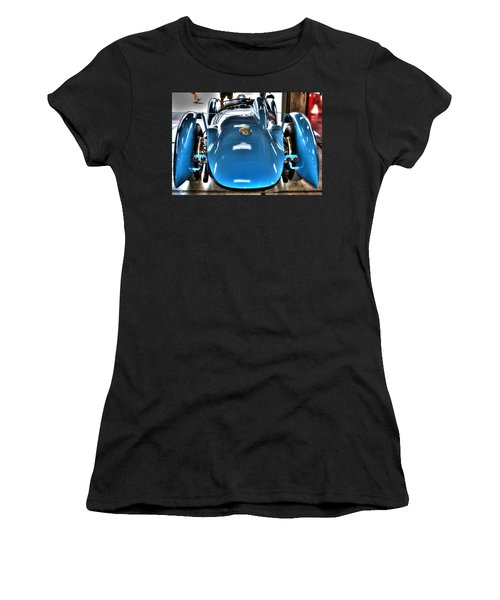 1937 Delahaye Type 145 Women's T-Shirt (Athletic Fit)