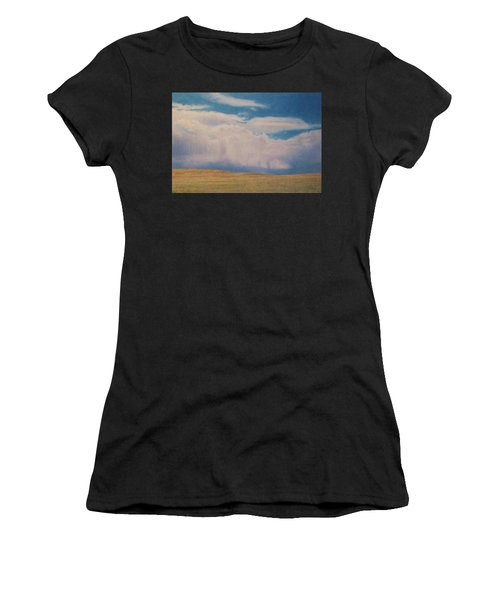 Women's T-Shirt featuring the drawing Early May by Cris Fulton