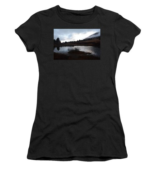 Early Morning At Favre Lake Women's T-Shirt (Athletic Fit)