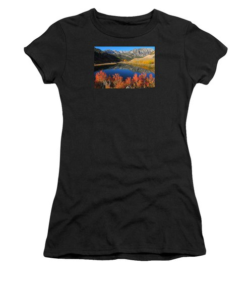 Early Morning At North Lake In Bishop Creek Canyon Women's T-Shirt (Junior Cut) by Jetson Nguyen