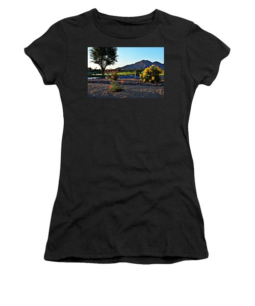 Early Morning At The Dunes Golf Course - La Quinta Women's T-Shirt