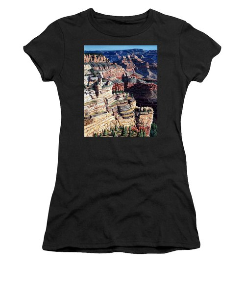 Early Morning From The South Rim Women's T-Shirt (Athletic Fit)