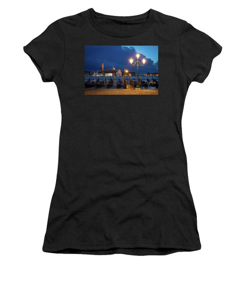 Women's T-Shirt (Junior Cut) featuring the photograph Early Morning In Venice by Brian Jannsen
