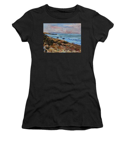 Early Morning Low Tide Women's T-Shirt (Athletic Fit)
