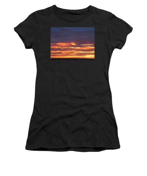 Early Prairie Sunrise Women's T-Shirt